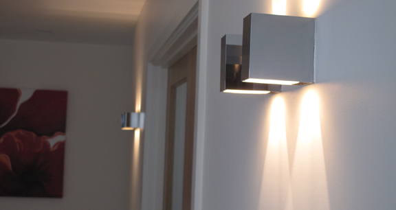 An example of lighting in a recent domestic project