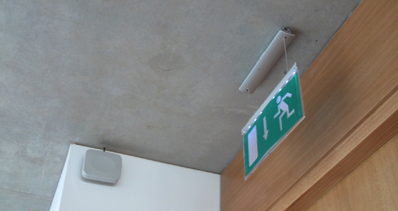 image of emergency exit sign
