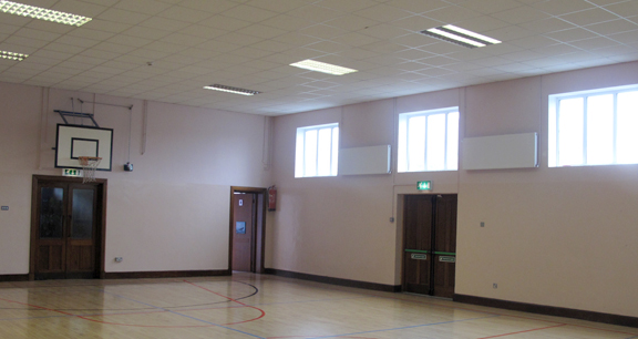 image of school gym