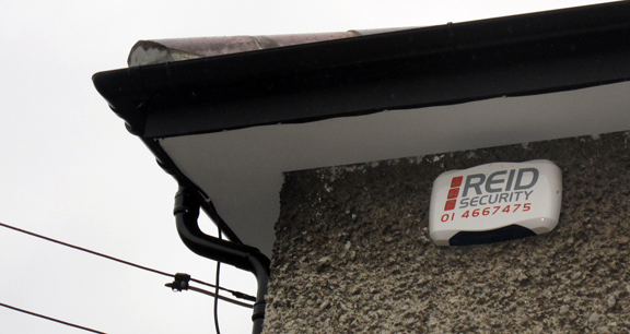 Example 3 of a REID Security Alarm in situ.